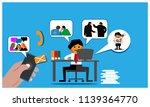 referral program background... | Shutterstock .eps vector #1139364770