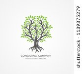 tree logo template | Shutterstock .eps vector #1139375279