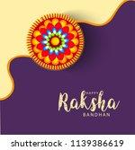 illustration of raksha bandhan... | Shutterstock . vector #1139386619