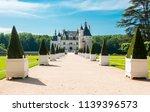 Chenonceau Castle (Chateau de Chenonceau), Loire valley, France - stock photo