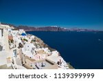 panoramic view from oia village ... | Shutterstock . vector #1139399999