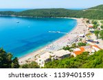 view from above on adriatic sea ... | Shutterstock . vector #1139401559