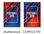 football 2018 colorful... | Shutterstock .eps vector #1139421770