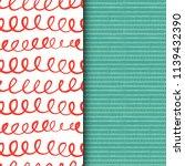 set of seamless vector patterns ... | Shutterstock .eps vector #1139432390