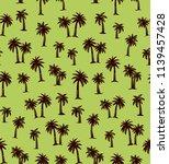 summertime african rainforest... | Shutterstock .eps vector #1139457428