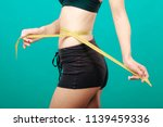weight loss  slim body  healthy ... | Shutterstock . vector #1139459336