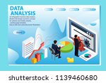 3d infographic business data... | Shutterstock .eps vector #1139460680