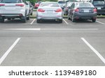 Car Parking Lot With Car Parke...
