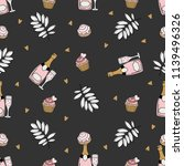 seamless pattern with... | Shutterstock .eps vector #1139496326