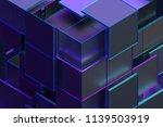 abstract 3d rendering of... | Shutterstock . vector #1139503919