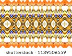 colorful horizontal pattern for ... | Shutterstock . vector #1139506559