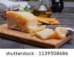 traditional italian food   36... | Shutterstock . vector #1139508686