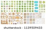 vector set for landscape design.... | Shutterstock .eps vector #1139509433