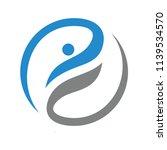 fun people healthy life logo...   Shutterstock .eps vector #1139534570