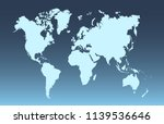 color world map vector | Shutterstock .eps vector #1139536646