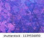contemporary art. hand made art.... | Shutterstock . vector #1139536850