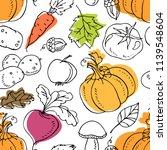 harvest festival. autumn vector ... | Shutterstock .eps vector #1139548604