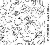harvest festival. autumn vector ... | Shutterstock .eps vector #1139548610