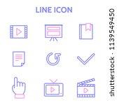 line icon design concept 6