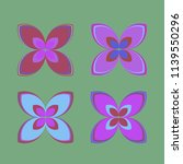 new color pattern with many... | Shutterstock .eps vector #1139550296