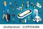 isometric set 6  international... | Shutterstock .eps vector #1139556686