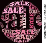 sale info text graphics and... | Shutterstock . vector #113955880