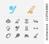 lifestyle icons set. american...