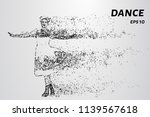 dance of the particles. girl...   Shutterstock .eps vector #1139567618
