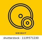 weight icon signs