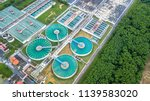 aerial top view recirculation... | Shutterstock . vector #1139583020