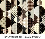 seamless background pattern....   Shutterstock .eps vector #113959090