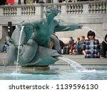London Uk 04 28 14 Tourists...