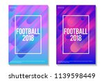 football 2018 colorful... | Shutterstock .eps vector #1139598449