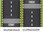 finish line racing background... | Shutterstock .eps vector #1139631059
