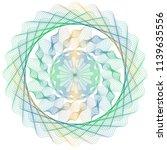 vector guilloche elements for...   Shutterstock .eps vector #1139635556