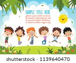 vector illustration of cartoon... | Shutterstock .eps vector #1139640470