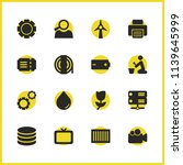 service icons set with farm ...