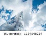 modern glass facade office... | Shutterstock . vector #1139648219