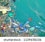 blur background of garbage... | Shutterstock . vector #1139658236