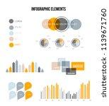 modern data visualisation... | Shutterstock .eps vector #1139671760