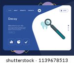 quality one page decay website... | Shutterstock .eps vector #1139678513