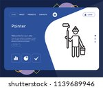 quality one page painter...   Shutterstock .eps vector #1139689946
