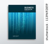 cover business book annual...   Shutterstock .eps vector #1139692859