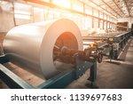 industrial galvanized steel... | Shutterstock . vector #1139697683
