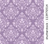 damask seamless pattern for... | Shutterstock .eps vector #113970514