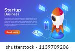 infographics 3d isometric web... | Shutterstock .eps vector #1139709206