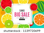 abstract summer sale background ... | Shutterstock .eps vector #1139720699