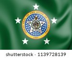 3d standard of the governor of... | Shutterstock . vector #1139728139