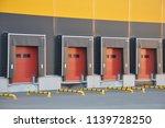 warehouse logistics complex   Shutterstock . vector #1139728250