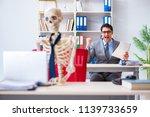 businessman working with... | Shutterstock . vector #1139733659